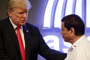 ASEAN summit: Trump says he has 'great relationship' with Philippines'...