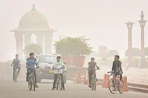 Delhi's air is a toxic mix of vehicular emissions, construction dust, smoke from garbage and leaf burning, and fumes from thermal plants and factories.