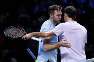 Roger Federer left red-faced by Jack Sock's 'cheeky' tactic in...