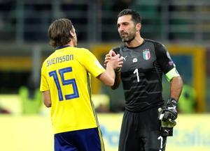 Gianluigi Buffon 'sorry for Italy' after FIFAWorld Cup play-off loss...