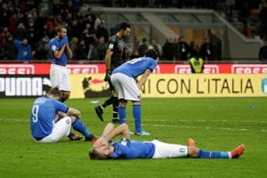 Italy held to 0-0 draw by Sweden, fail to qualify for 2018 FIFAWorld...