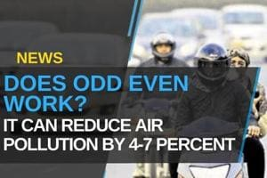 """""""Odd Even Can Reduce Air Pollution By 4-7 Percent"""""""