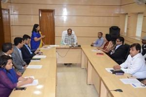 CM launches online leave management system