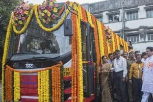 Eco-friendly buses start running in south Mumbai
