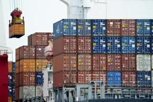India's exports drop 1.12% to $23 billion in October, trade deficit...
