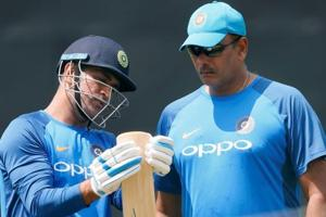 Ravi Shastri lashes out at MS Dhoni's critics: See your career before...