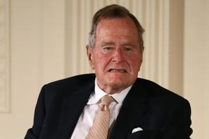 Another woman accuses George HW Bush of groping