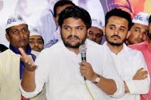 Caught in 'sex CD' war, Hardik Patel gets support from Congress