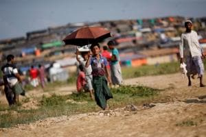 Photos: Twelve-year-old Rohingya refugee is family's sole...