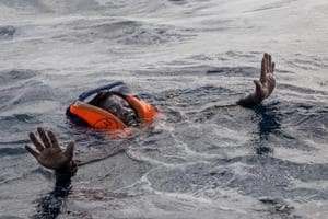 Haunting image of migrant drowning in sea once again puts spotlight on...