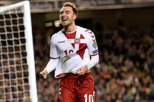 FIFA World Cup qualifier: Christian Eriksen's hattrick helps Denmark...
