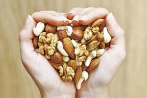 For a healthy heart and long life, munch on a variety of nuts everyday...