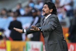 Diego Maradona angry over Argentina's defeat to Nigeria, wants to...