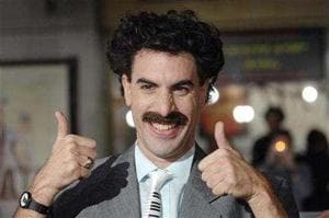6 Czech nationals fined for sporting Borat 'mankinis' in Kazakhstan
