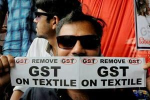 Gujarati textile traders say they were badly affected by the GST.