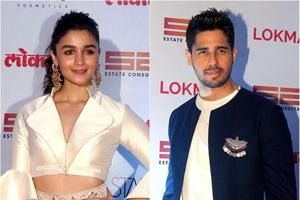 Alia Bhatt, Sidharth Malhotra bring glamour (and some PDA) to style...