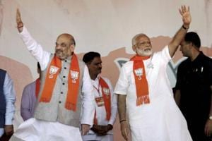 BJP is clearly ahead of the Congress in Gujarat in terms of...