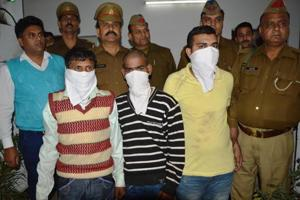 Ghaziabad:Three held for murder of showroom owner from Delhi