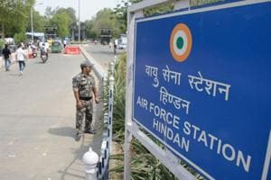 Hindon air base security breach bid: Man shot at while trying to scale...