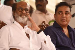 Kamal Haasan, Rajinikanth congratulate each other on NTR National...