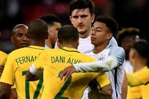 England hold Brazil to goalless draw, Russia play out 3-3 draw against...