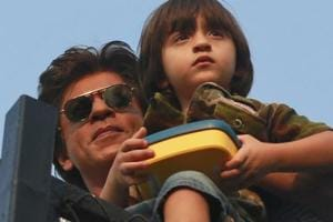Shah Rukh Khan's son AbRam dances for Aryan and Suhana on Children's...