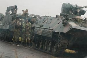 Zimbabwe military says not taking over govt, targeting criminals...