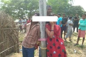 The youth and the woman have been tied to a pole in Odisha's Malkangiri district.