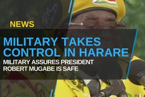 Zimbabwe's military said it had seized power in a targeted assault on...
