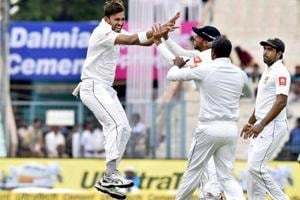 Kolkata Test: Sri Lanka's Suranga Lakmal rattles India on...