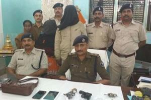 Woman leader of rob-and-kill gang arrested in Bihar's Vaishali...