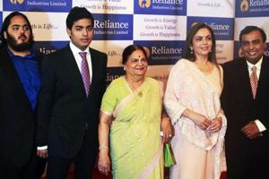 Ambanis top Forbes list of Asia's richest families, pip Lees