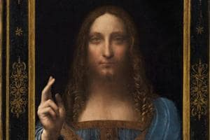 Salvator Mundi: Leonardo da Vinci's portrait of Christ sells for...