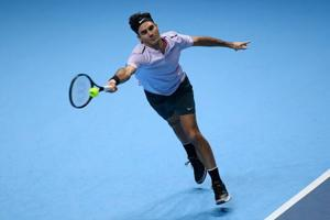 Roger Federer beats Marin Cilic in ATPWorld Tour Finals at London