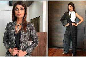 Photos: Shilpa Shetty makes a strong case for stylish pantsuits
