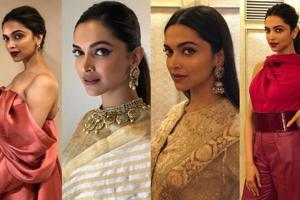 Deepika Padukone wore four glamorous, completely different outfits in...