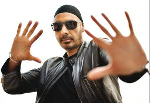 Sukhbir loves grooving to the beats of Michael Jackson's numbers. Sukhbir wears a jacket from Versace, T-shirt from 7 for All Mankind, shades from Ferragamo and the patka is by his wife Dimpy Caur