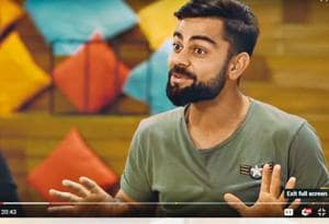 Watch Virat Kohli  on Breakfast With Champions on YouTube