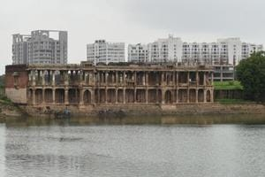 Ahmedabad's heritage spots caught between ruins and urban landscape...