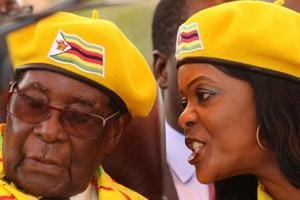 Fall from Grace: Robert Mugabe's  weakness was his wife and her...
