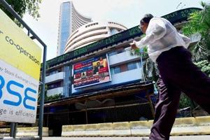 Sensex zooms 414 points after Moody's ups India rating