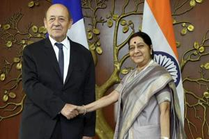 India, France agree to cooperate on Indian Ocean region security