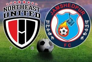 ISL 2017-18, live football score, NorthEast United FC vs Jamshedpur FC