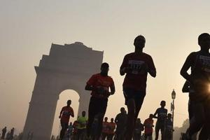 Despite pollution issues, around 13,000 runners are expected for the 21km main race of the Delhi Half Marathon (ADHM)on Sunday, an indication of how deep the passion has gripped the running community in India.