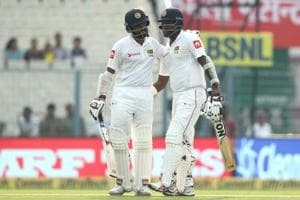 Lahiru Thirimanne, Angelo Mathews fifties help Sri Lanka take charge...