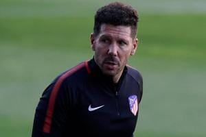 Atletico Madrid manager Diego Simeone has conceded that crosstown...