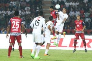 ISL 2017-18: Ten-man Jamshedpur FC hold NorthEast United FC to...