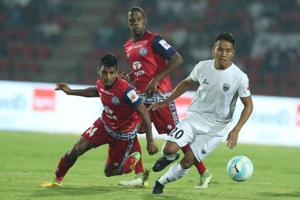 ISL 2017-18: NorthEast United FC hold Jamshedpur FC to goalless draw