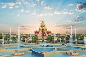 Telangana's 216-feet statue of Sri Ramanujacharya to be completed by...