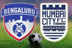 Bengaluru FC defeated Mumbai City FC in the Indian Super League on Sunday.  Catch full score of Indian Super League 2017-18, Bengaluru FC vs Mumbai City FC football match, here.